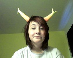 My vriska horns!!! by kuroineko99