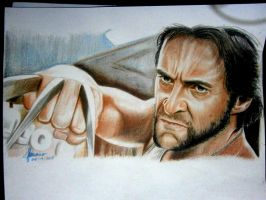 Hugh Jackman as Logan by cLoELaLi11