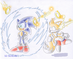 Sonic 3: Electric shield by adamis