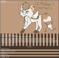.:RQ:. LeAmber journal skin by RoxyCockerSpaniel