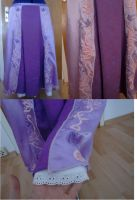 Rapunzel skirt  WIP by CheshireCat1