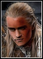 Legolas Sketch Card 7 by RandySiplon