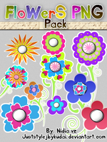 FLOWERS PNG PACK 006 by juststyleJByKUDAI