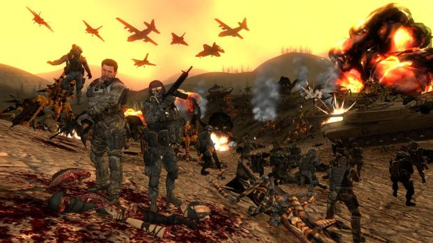 Starship Troopers gmod version by XxXPR0AR3T3RXxX