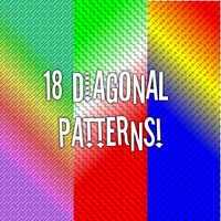 18 Diagonal Line Patterns by minithing101