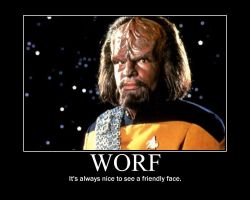 Worf Motivational by Werewolfsbane
