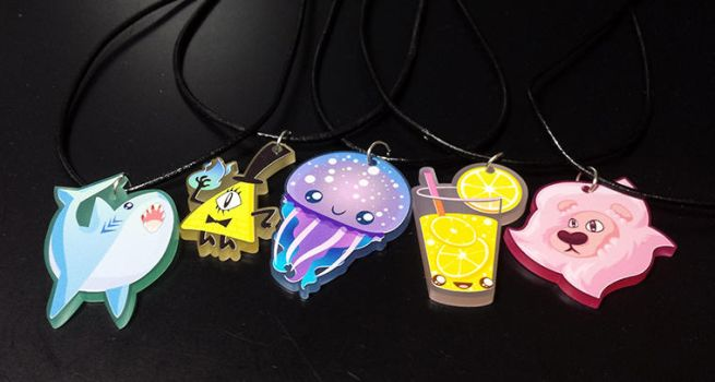 Acrylic Charms by beffles