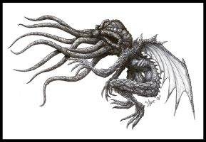 Cthulhu full by DickStarr
