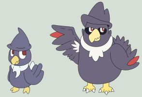 Murkrow Contest Entry by Galbert