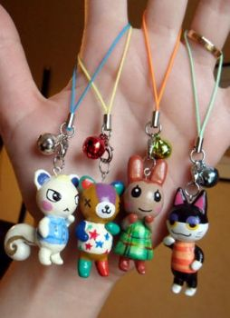 ACNL - Charms by Moontoon