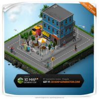 Isometric icons People - Iso Cafe by templay-team