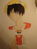 Luffy by ashcat4444