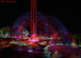 Julia's 3D Fountains by one-tough-one