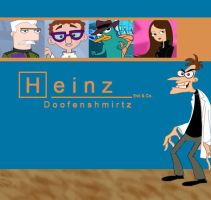 Dr. Doofenshmirtz Evil n Co. by Aletheiia90