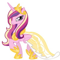 Princess Cadance Vector by aeroyTechyon-X