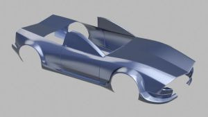 Icehound drift car WIP by ChaZcaTriX