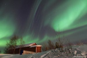 Northern Lights over Inari by andykeen