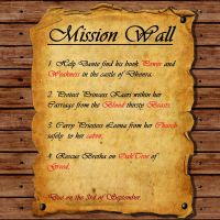 Fairy Tail Mission Wall by dwaxy