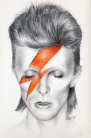David Bowie 2 by sarahchalmers