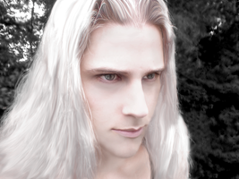 Young Sephiroth by Lillius-Macrin