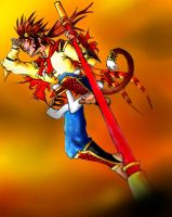 Sun WuKong - Copic version by Psyche-Angel