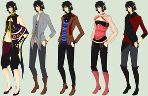 outfit design + Ivan info! by oOLittlePinkyOo