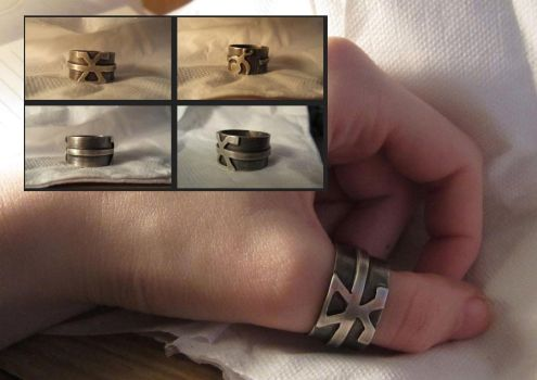Insignia of the Chaos Gods Ring by EViLZUKiN