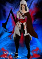 Assassins Creed Character by wolfgal04