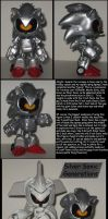 Custom Commission: SIlver/Mecha Sonic by Wakeangel2001
