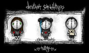 devianT sTitchlings by twigs