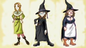 3 witches of Discworld by fernalf