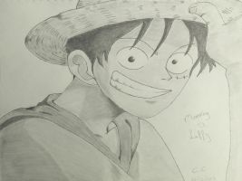 Monkey D. Luffy by WolfSpiritlover