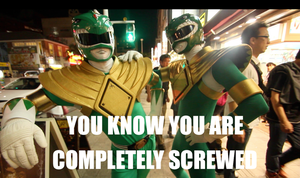 2 GREEN RANGERS? YOU ARE SCREWED!! by KellHiro