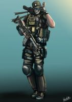 pmc character by PMCKai86