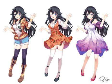[COMMISSION 1] - Fullbody anime style by Hanh-Chu