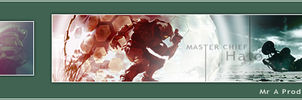 Halo 3 Signature + Avatar by noblead