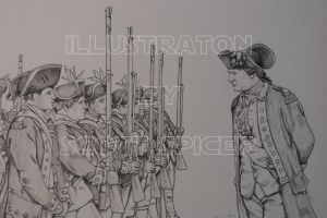 'Reviewing the troops' by srspicer