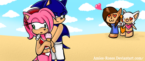 Sonamy: Be my hero...? by icefatal