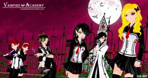 .+ VAMPIRE ACADEMY +. by DoubleDead