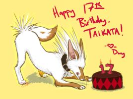 Taikata's Birfday by dwyII