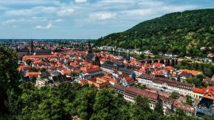 Look at the Old Town of Heidelberg by pingallery