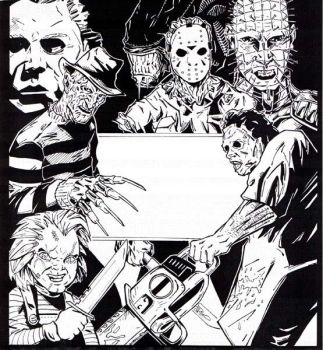Horror Poster by Tollbooth10