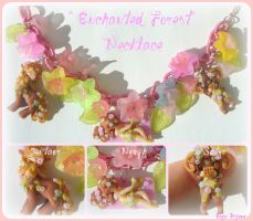 Enchanted forest Necklace by Bojo-Bijoux
