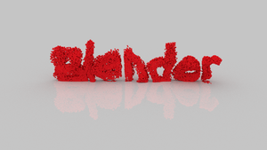 Blender Dissolve Text by Megalomaniacaly