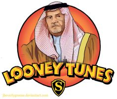 Looney Tunes Saudi by jbeverlygreene