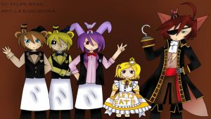 Five Nights at Freddy's (ver. anime) by marialabuscadora