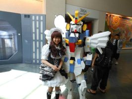 Kawaiikon 2012: Gundam by K-ayu