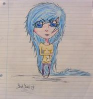 Grimmjow: As A Girl by BlondeBleach1995