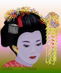 Geisha by Thijske by Patternintheivy
