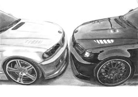 BMW M3 vs BMW 325i by mehmetmumtaz